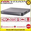 Hikvision DS-7208HTHI-K2(S)  8 Channel  4K 8MP Audio DVR H.265 Pro+/H.265 Pro/H.265 video compression