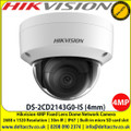 Hikvision DS-2CD2143G0-IS 4MP 4mm fixed lens 30m IR IP67 IK10 120dB WDR 2 Behavior analyses, and face detection Built-in micro SD/SDHC/SDXC card slot Dome Network Camera
