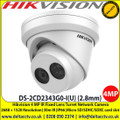 Hikvsion DS-2CD2343G0-I(U) 4MP 2.8mm Fixed Lens 30m IR IP66 CCTV Turret IP Network Camera