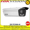 Hikvision iDS-TCV900-AI ANPR Camera 9MP Highly Performance , Vehicle type recognition, Vehicle color recognition, Radar speed detection, Driving on Lane Line Detection