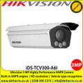 Hikvision iDS-TCV300-A6I Highly Performance ANPR Camera, Dedicated camera for ANPR, Built-in ANPR engine, equipped with deep learning algorithm,  Multiple detection and recognition