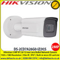 Hikvision DS-2CD7A26G0-IZ(H)S 2MP 2.8-12 mm Varifocal Lens 50m IR IP67 Bullet Network Cmera with 1920 x 1080 Resolution, 140 dB WDR, ,  Alarm I/O,  IP67, IK10