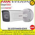 Hikvision 4MP 2.8-12 mm Varifocal Lens 50m IR IP67 IK10 Darkfighter DeepinView Bullet Network Cmera with 2560 × 1440 @ 30fps, 140 dB WDR, ,  Alarm I/O,  IP67, IK10