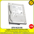Toshiba 1TB 7200 RPM SATA 6Gbps SATA Hard Drive - DT01ACA100