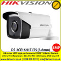 Hikvision DS-2CE16H1T-IT5 5MP 3.6mm fixed lens 80m IR IP67 HD EXIR Bullet Camera