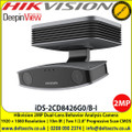 Hikvision iDS-2CD8426G0/B-I 2MP Dual-Lens Behavior Analysis Camera, H.265+, H.265, H.264+, H.264, 3 video streams, IR range up to 10 m, Stereo imaging