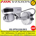 "Hikvision iDS-2PT9122IX-DE/S PanoVu PT Series 2MP + 2MP Target Capture Camera, 1/2.7"" progressive scan CMOS, Tracking PTZ Camera, 10× optical zoom, 16× digital zoom"