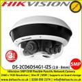Hikvision DS-2CD6D54G1-IZS 5MP EXIR Flexible PanoVu camera, 2.8 - 8mm varifocal lens, 4 flexible lens Up to 30m IR distance H.265+ compression