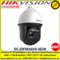 Hikvision DS-2DF8836I5X-AELW 8-inch 4K 36X DarkFighter Laser Network,  Speed Dome, IK10 IP67, 36× optical zoom, 16× digital zoom, Up to 500 m laser distance