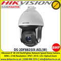 Hikvision DS-2DF8825IX-AEL(W) 8-inch 4K 25X DarkFighter IR Network Speed Dome, IK10 IP67, Up to 200 m IR distance, 25× optical zoom, 16× digital zoom
