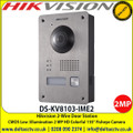Hikvision DS-KV8103-IME2 2-Wire Door Station with CMOS Low illumination 2MP HD Colorful 155° Fisheye Camera, two-wire digital villa door station