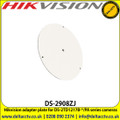 Hikvision DS-2908ZJ adapter plate for use with DS-2TD1217B-*/PA series cameras