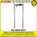 Hikvision 3mm fixed lens temperature measurement walk-through detector - ISD-SMG318LT-F