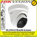 Hikvision 6.2mm fixed lens thermographic turret body temperature measurement camera - DS-2TD1217B-6/PA
