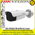 Hikvision 6.2mm fixed lens thermographic bullet body temperature measurement camera - DS-2TD2617B-6/PA