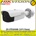 Hikvision DS-2TD2636B-13/P Temperature Screening Thermographic Bullet Camera