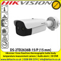 Hikvision Fever Screening Thermal & Optical Network Bullet Camera - DS-2TD2636B-15/P