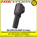 Hikvision Fever Screening Handheld Camera, 160 × 120 resolution, Thermographic accuracy up to ±0.5 °C, 320 × 240 resolution 2.4'' LCD display, Built-in rechargeable Li-ion battery - DS-2TP31B-3AUF