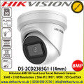Hikvision DS-2CD2385G1-I 8MP (4K) 4mm fixed lens 30m IR distance Darkfighter Ultra low light IP Network Turret Camera with IR