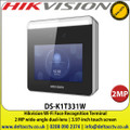 Hikvision DS-K1T331W Wi-Fi Face Recognition Terminal  2MP wide-angle dual-lens,  3.97-inch touch screen, Face anti-spoofing