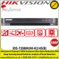 Hikvision - iDS-7208HUHI-K2/4S(B) 8-Channel 2 SATA AcuSense False Alarm Reduction DVR, Deep learning-based behavior analysis of facial detection
