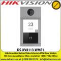 Hikvision One Button Video Intercom Villa Door Station  HD video surveillance (Max. resolution 1080×720@30fps) - DS-KV8113-WME1