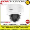 Hikvision DS-2CD2746G2-IZS (2.8-12 mm) AcuSense 4MP Varifocal Darkfighter Dome Network Camera  2592 × 1944 Resolution, 40m IR, IP66, IK10, SD Card Slot