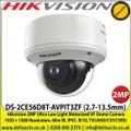 Hikvision DS-2CE56D8T-AVPIT3ZF (2.7-13.5mm) 2MP Ultra Low Light Motorized Vari-focal Dome Camera 1920 × 1080 Resolution, 60m IR, IP67, IK10, TVI/AHD/CVI/CVBS)
