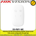 HIKVISION DS-PKF1-WE AX PRO Series Wireless Keyfob, Operation: stay/away arming and disarming, Tamper-proof Keyfob lock and unlock function