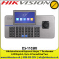 "Hikvision DS-1105KI Network Keyboard Adopts 7"" Touchscreen  & 4D Joystick, Up to 4-Channel Live View"