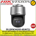 Hikvision 4MP 6 - 252mm Lens 42 x optical zoom DarkFighter Network IR Speed Dome Camera, 500m IR Distance, IP67 Weatherproof, WDR, Smart tracking, 24V AC / Hi-PoE (60W) - DS-2DF8C442IXS-AELW(T2)