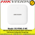 Hikvision DS-PDWL-E-WE AX PRO Series Wireless Water Leak Detector, Fully Remote Configurable Through App, UK Seller