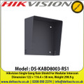 Hikvision DS-KABD8003-RS1 Single Gang Rain Shield For Modular Intercom, Dimension 122 × 116.4 × 58 mm, Weight 298.9 g