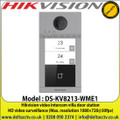 Hikvision DS-KV8213-WME1 Video Intercom Villa Door Station, 4-Channel alarm input, 1-Ch alarm output