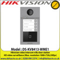 Hikvision DS-KV8413-WME1 video intercom villa door station,Night vision, low illumnination IP supplement mode: 3m