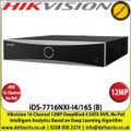 Hikvision - 16 Channel NVR with 12 MP Resolution, No PoE, 4 SATA Interface, HDMI and VGA Output, Supports Decoding H.265+/H.265/H.264+/H.264 Video Formats - iDS-7716NXI-I4/16S (B)