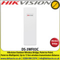Hikvision Outdoor Wireless Bridge, Point-to-Point, Point-to-Multipoint, 5Ghz 300Mbps 15km Outdoor Wireless CPE - DS-3WF03C