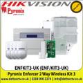 Pyronix - Enforcer 2 Way Wireless Kit Enforcer Kit 3 - ENFKIT3-UK