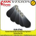 Pyronix - Fob Intruder Economy Prox Tag Pack 5 - EUR-ETAG