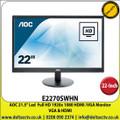 """AOC - 21.5"""" Led  Full HD 1920x 1080 HDMI /VGA Monitor - E2270SWHN"""