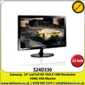 "Samsung - 24"" Led Full HD 1920 x 1080 HDMI/VGA Monitor - S24D330"