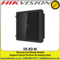 Hikvision - Card Reader Module,Supports Unlock The Door Via Swiping Cards - DS-KD-M