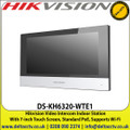 Hikvision - Video Intercom Indoor Station With 7-inch Touch Screen, Standard PoE, Supports Wi-Fi - DS-KH6320-WTE1