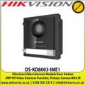 Hikvision - Video Intercom Module Door Station, 2MP HD Video Intercom Function, Fisheye Camera With IR Supplement Light - DS-KD8003-IME1