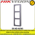 Hikvision 3 Way Wall Mounting Bracket For Modular Door Station, Adapts To Three-Module Surface Mounting - DS-KD-ACW3