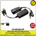 PACE- Single Ch HD Video & Power CAT 5/6 Balun Twin Pack-FS-HD4301VP