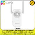 EZVIZ - Video Doorbell Chime for the DB1 & DB1C Doorbells, Built-in Speaker, Muiltiple Notification Ringtones - CHIME