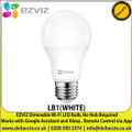 EZVIZ - Dimmable Wi-Fi LED Bulb, Schedule & Timer, Remote Control via App, Works with Google Assistant and Alexa - LB1(WHITE)