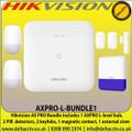 Hikvision - AX Pro Light Level Wireless Bundle 1, TCP/IP, Wi-Fi, and GPRS network - AXPRO-L-BUNDLE1