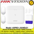Hikvision AX Pro Light Level Wireless Bundle 1, TCP/IP, Wi-Fi, and GPRS network - AXPRO-L-BUNDLE1